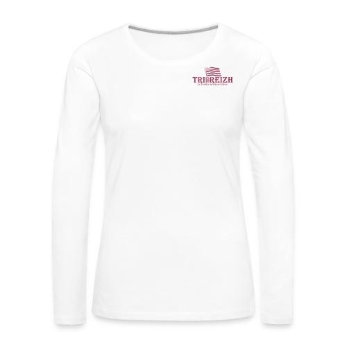 logo Tribreizh - T-shirt manches longues Premium Femme