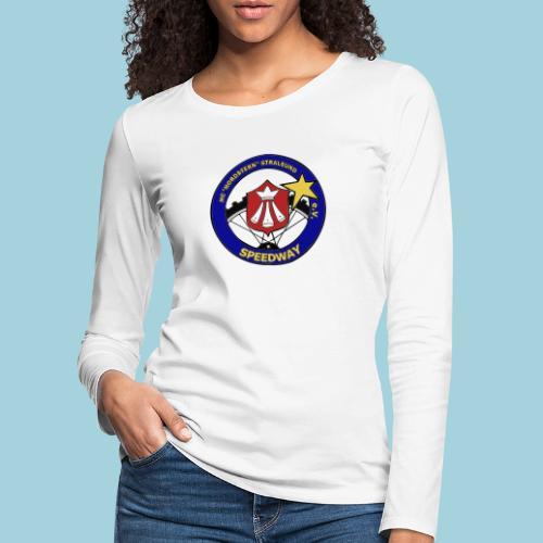 MCN Logo beidseitig - Frauen Premium Langarmshirt
