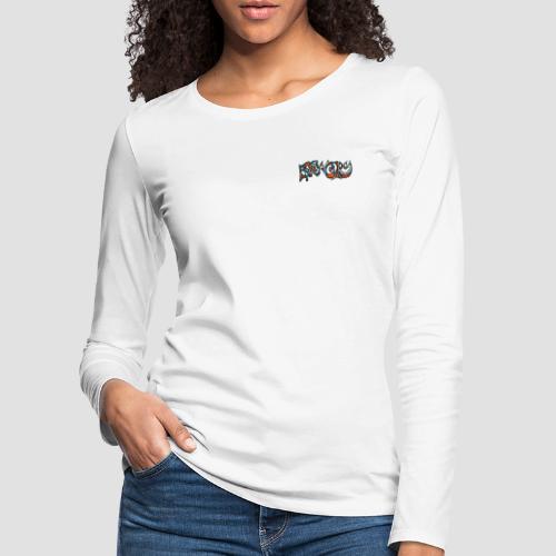 Felix Culpa Designs front & back logo - Women's Premium Longsleeve Shirt