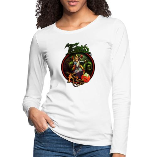 Tomato King - Twitch Back - Långärmad premium-T-shirt dam