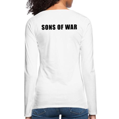 Tekst - Dame premium T-shirt med lange ærmer
