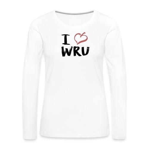 I love RUD - Frauen Premium Langarmshirt