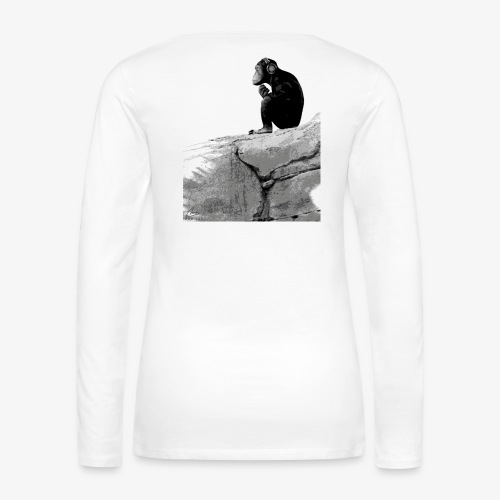 Music Monkey - Women's Premium Longsleeve Shirt