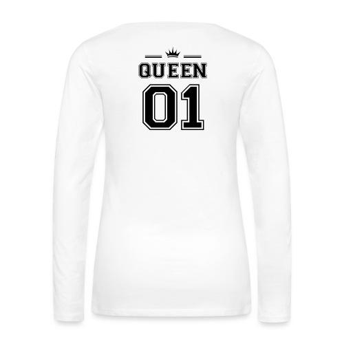 queen 01 - Maglietta Premium a manica lunga da donna