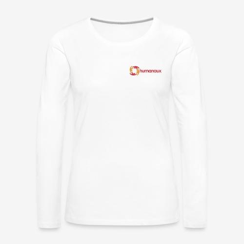 humanaux_v1_groß - Frauen Premium Langarmshirt