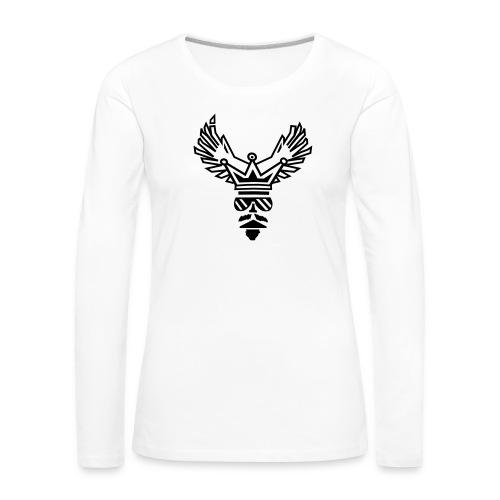 King - Maglietta Premium a manica lunga da donna