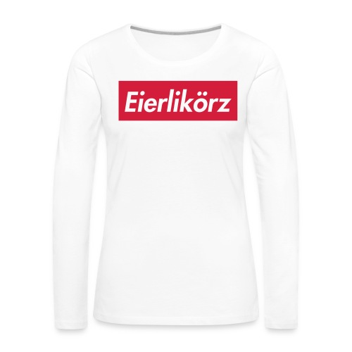Eierlikörz SSFW 2017 Shirt - Frauen Premium Langarmshirt