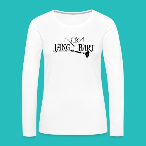Logo-BN - Maglietta Premium a manica lunga da donna