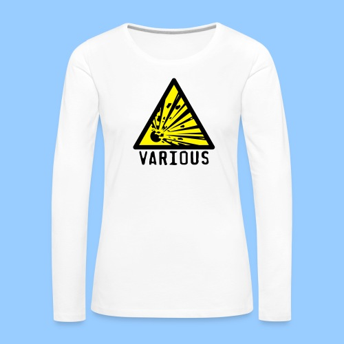VariousExplosions Triangle (2 colour) - Women's Premium Longsleeve Shirt