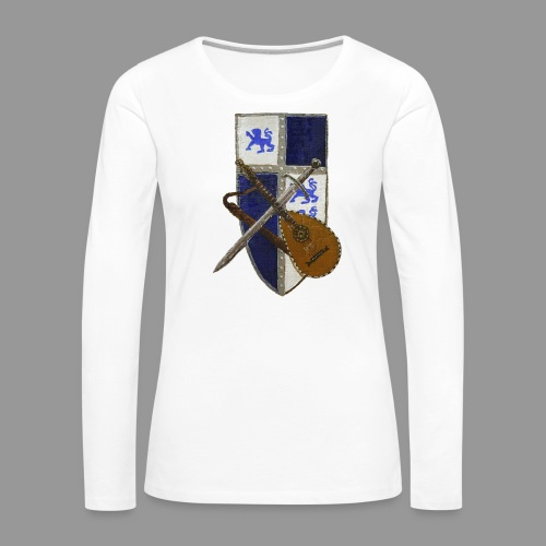 vonardingen_wappen - Frauen Premium Langarmshirt