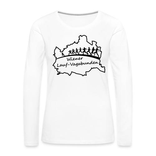 Laufvagabunden T Shirt - Frauen Premium Langarmshirt