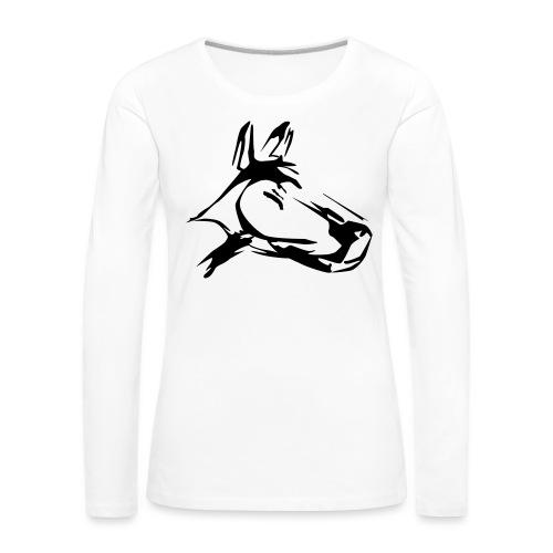 der hund 10 x 10 - Frauen Premium Langarmshirt