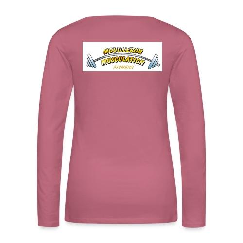 mouilleron muscu logo pour tee shirt 311 - T-shirt manches longues Premium Femme