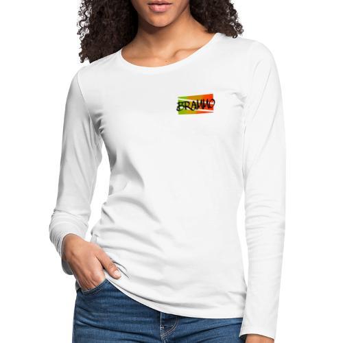 Brammo color - Vrouwen Premium shirt met lange mouwen
