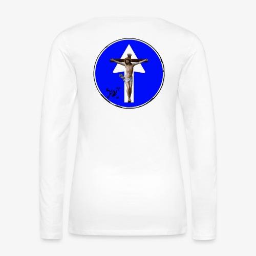 Gesù - Maglietta Premium a manica lunga da donna
