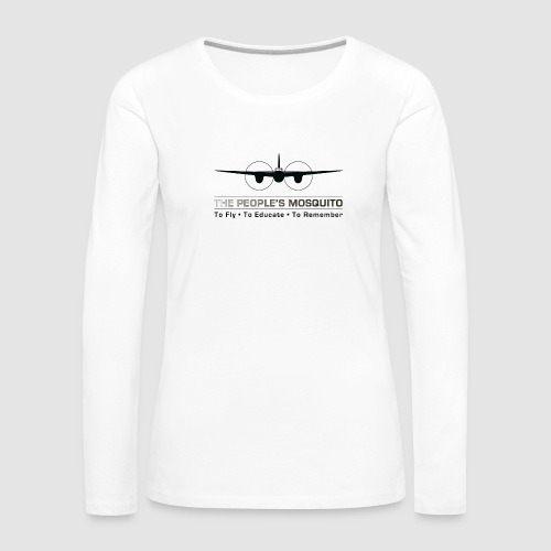 TPM_Mossie_Nose_on - Women's Premium Longsleeve Shirt