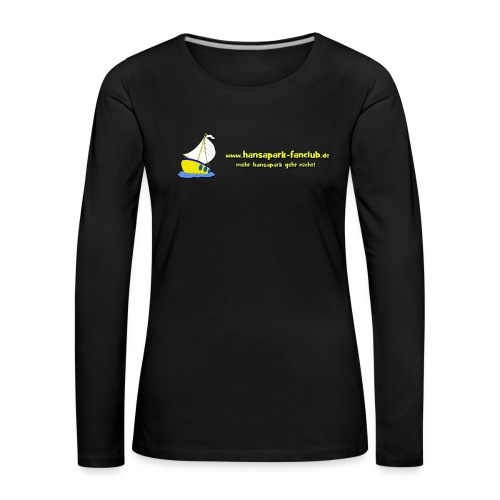Logo Länglich png - Frauen Premium Langarmshirt