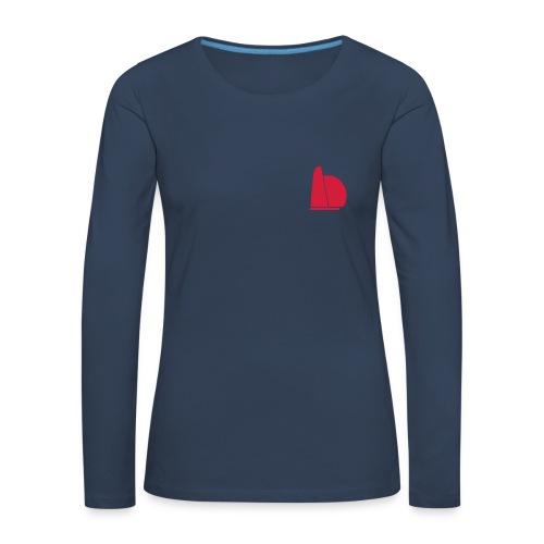 One two - Dame premium T-shirt med lange ærmer
