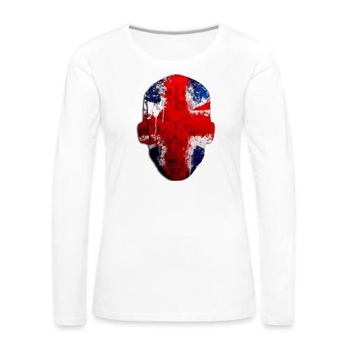 Borg Robot Cap - Women's Premium Longsleeve Shirt