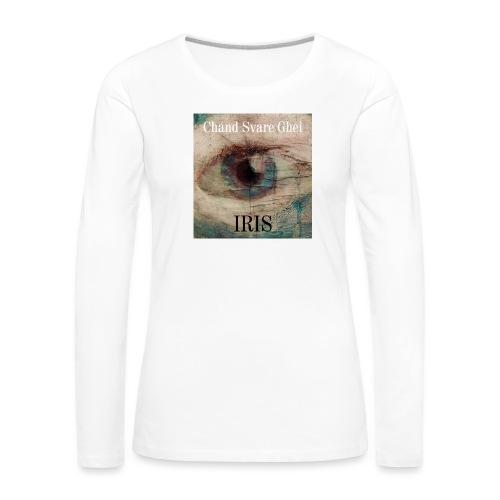 Iris - Premium langermet T-skjorte for kvinner