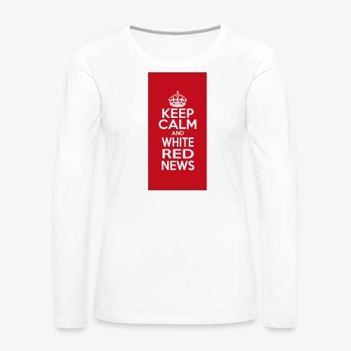 cover cellulare jpg - Maglietta Premium a manica lunga da donna
