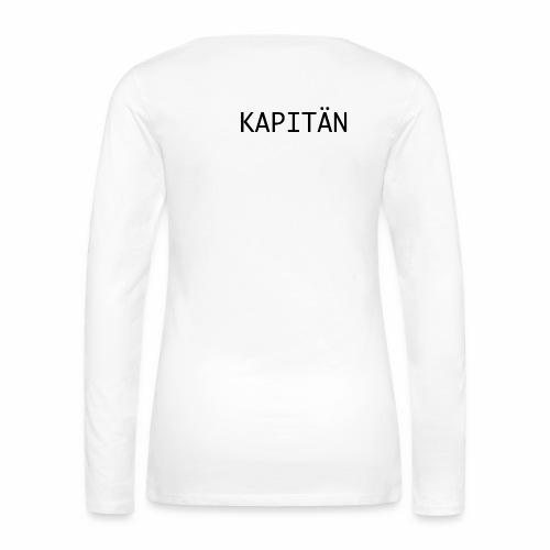 Kapitän - Frauen Premium Langarmshirt