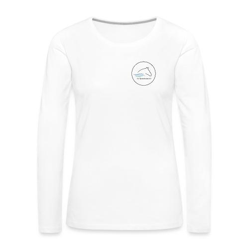 Logo print png - Frauen Premium Langarmshirt