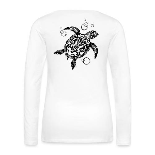 Watchful Turtle - Women's Premium Longsleeve Shirt