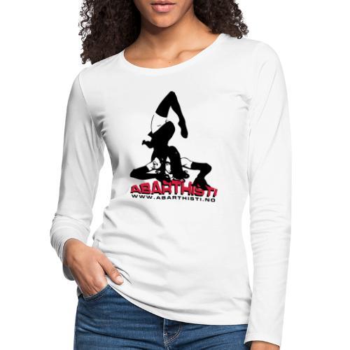 Abarthisti Pinup - Premium langermet T-skjorte for kvinner