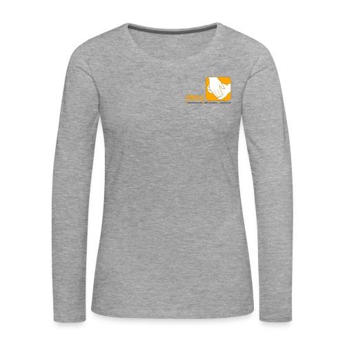 Logo der ÖRSG - Rett Syndrom Österreich - Frauen Premium Langarmshirt