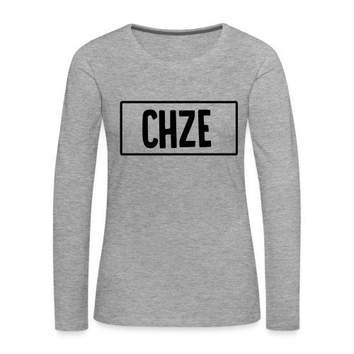 CHZE - Women's Premium Longsleeve Shirt