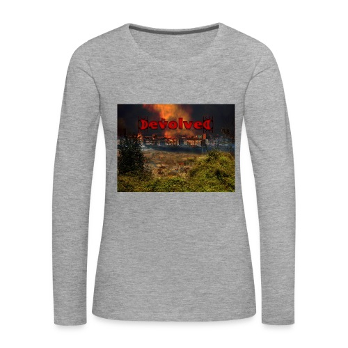 The Devolved Long TS1 - Women's Premium Longsleeve Shirt