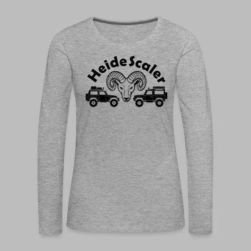 Heide Scaler - Frauen Premium Langarmshirt