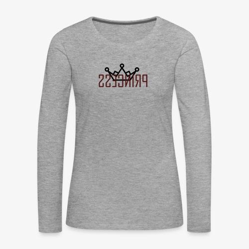 Princess - Frauen Premium Langarmshirt