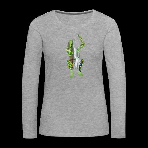 Jump into Adventure - Frauen Premium Langarmshirt