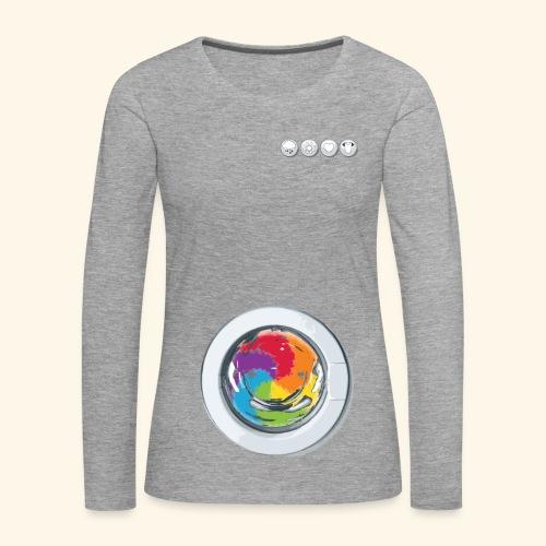 Rainbow Laundry-Unisex - Women's Premium Longsleeve Shirt