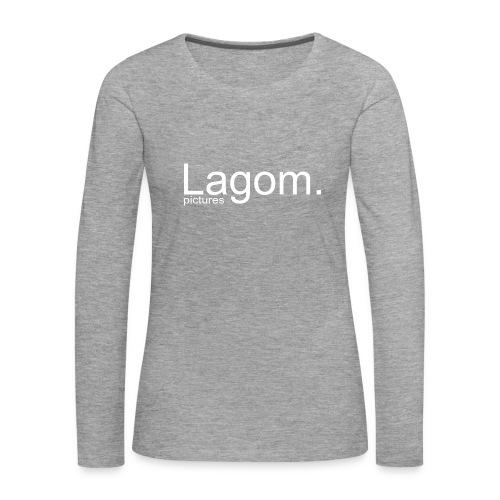Lagom Pictures Logo Light - Women's Premium Longsleeve Shirt