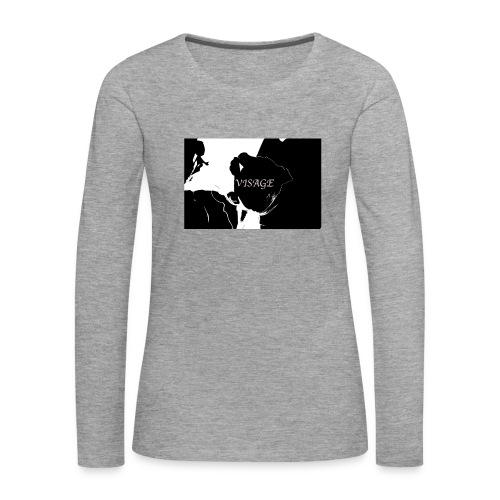 Visage Rose - Frauen Premium Langarmshirt