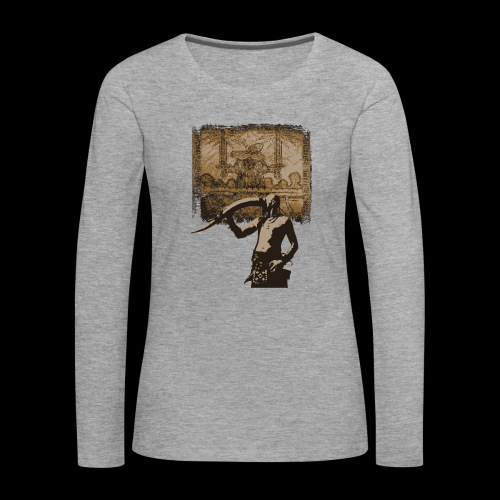 Buvons à la gloire de Svefnii - T-shirt manches longues Premium Femme
