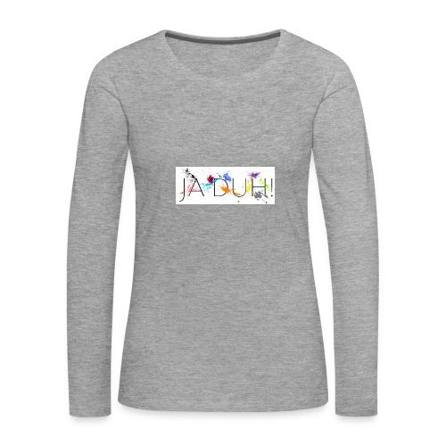 Ja Duh! Merchandise Mula B Meesterplusser - Vrouwen Premium shirt met lange mouwen