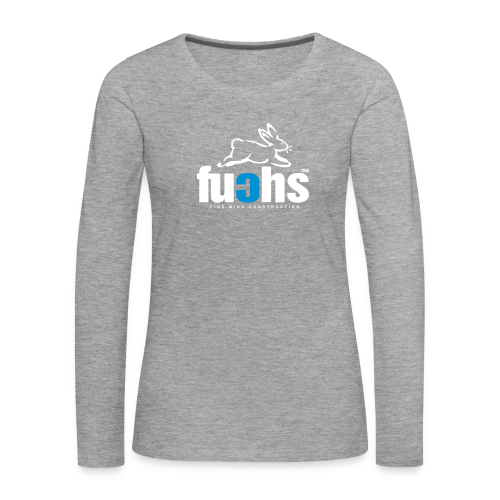 fuchs - Frauen Premium Langarmshirt