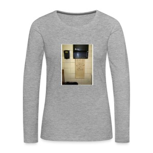 Stuck in the paperholder - Långärmad premium-T-shirt dam