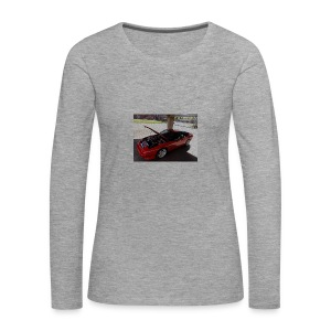 s13 - Naisten premium pitkähihainen t-paita