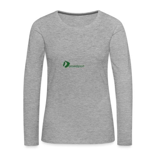 Logo DomesSport Green noBg - Frauen Premium Langarmshirt