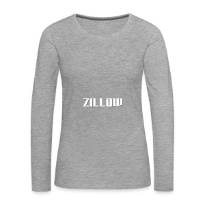 Zillow - Women's Premium Longsleeve Shirt