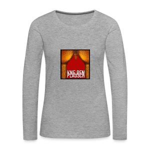 Kneipenplausch Cover Edition - Frauen Premium Langarmshirt