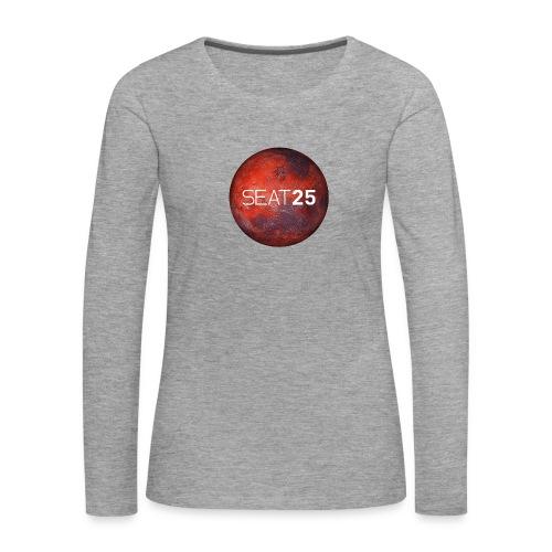 Mars and Logo - Women's Premium Longsleeve Shirt