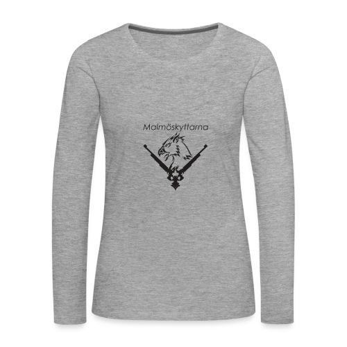 Malmöskyttarna - Långärmad premium-T-shirt dam
