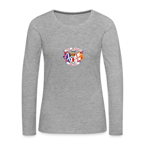 Pride of Shankill - Women's Premium Longsleeve Shirt