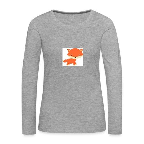 fox_1 - Vrouwen Premium shirt met lange mouwen